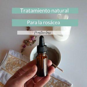 Tratamiento natural de la rosácea