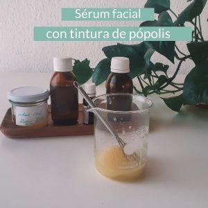 Serum facial con tintura de propolis